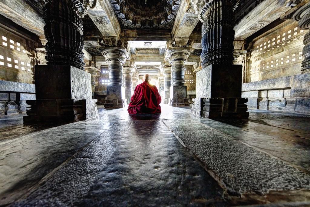 Moine tibétain, Inde, 2015 - Matthieu RICARD