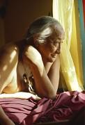 Dilgo Khyentsé Rinpotché, maître spirituel tibétain,1985 - Matthieu RICARD