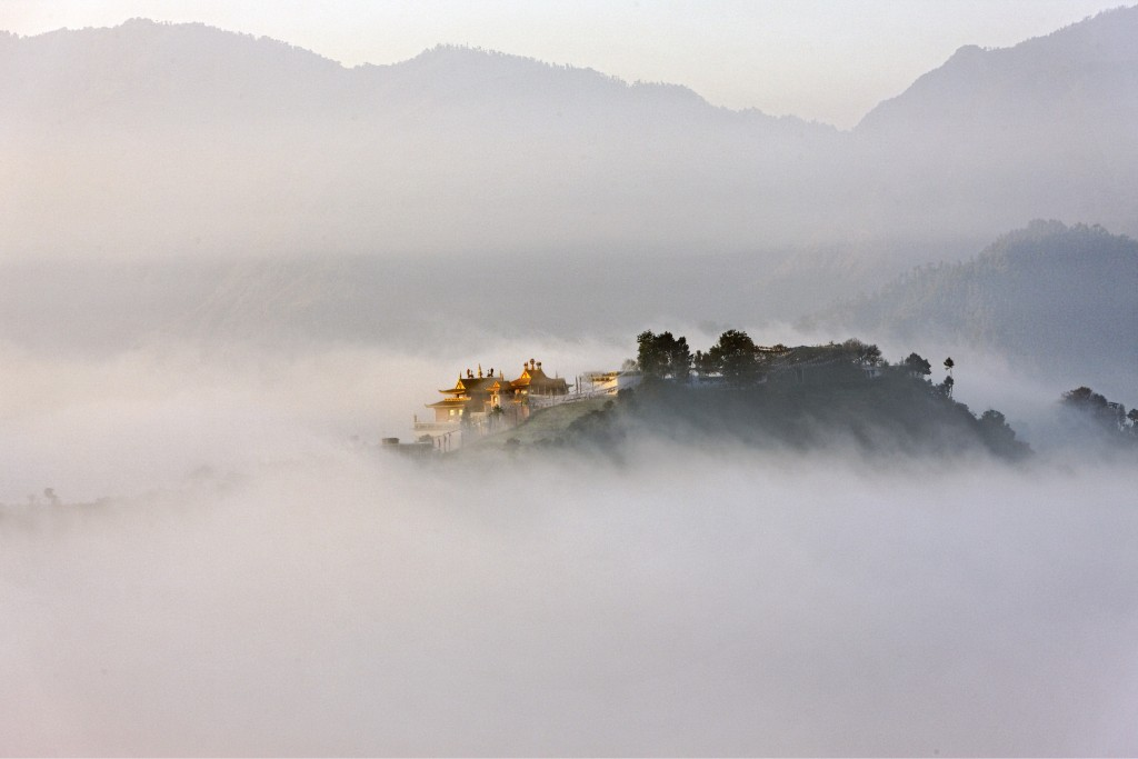 Monastère tibétain, Népal, 2009 - Matthieu RICARD